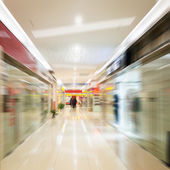 Interior of a shopping mall — Stockfoto