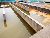 Modern urban wastewater treatment plant — Stock fotografie
