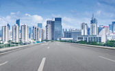 chinese city,shenzhen — Stock Photo