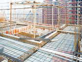 Roof structure,construct ion — Stock Photo