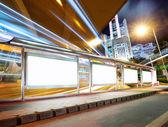 Puste billboard — Zdjęcie stockowe