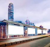 Blank billboard  — Foto Stock