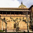 Santa Maria church in Ezcaray, Spain - Stock Photo