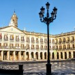 Stock Photo: Town hall of Vitoria, Spain