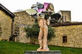 Uma escultura para a uva — Fotografia Stock