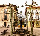 The Ezcaray square — Stock Photo
