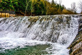 A waterfall in the Oja river — Stock Photo
