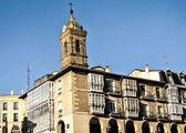 San Vicente church in Vitoria, Spain. — Stock Photo