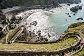 San Juan de Gaztelugatxe church (Basque Country, Spain) — Stock Photo