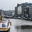 Stock Photo: Street of Amsterdam (Holland, Europe)