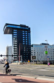 A modern building in Rotterdam Holland, Europe — Stock Photo
