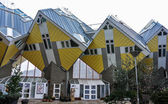 The box houses in Rotterdam Holland, Europe — Stock Photo
