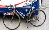 竞争自行车 — 图库照片