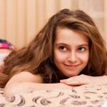Pretty teenage girl at home — Stock Photo #41417059