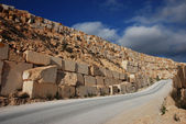 Stock of marble blocks — Stock Photo