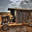 Old construction vehicle — Stock Photo
