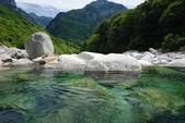 Verzasca-valley in Switzerland — Stock Photo
