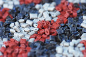Several polymer resins — Stock Photo