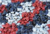 Several polymer resins — Stock Photo