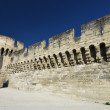 Town wall of Avignon — Stock Photo