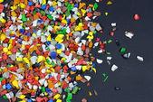 Polymer regrind — Stock Photo