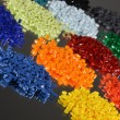 Dyed Polymer Resins — Stockfoto