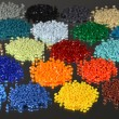 Dyed Polymer Resins — Foto de Stock