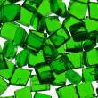 Stock Photo: Green transparent polymer resin