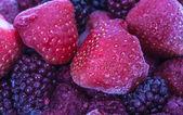 Frozen fruits — Stock Photo