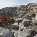 Stone pit - Quarry — Stock Photo #45013017