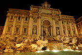 Fontana di Trevi, Rome, Italy — Stock Photo