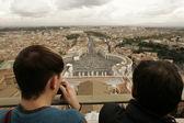 Peterskyrkan, Vatikanstaten — Stockfoto