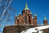 Uspensky Cathedral, Helsinki, Finland — Stock Photo