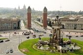 Plaza Espana, Barcelona, Spain — Stock Photo