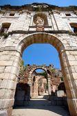 Ruiny scala dei kláštera, priorat, katalánsko, španělsko — Stock fotografie