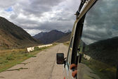 Kyrgyzstan - Central Tien Shan region (road to Maida Adyr) — Stock Photo