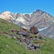 Tien Shan mountains, Ak-Shirak region, Kyrgyzstan — Stock Photo