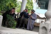 Uzbekiska i arslanbob, kirgizistan — Stockfoto