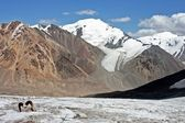 Tien Shan mountains, Ak-Shyrak region, Kyrgyzstan — Stock Photo