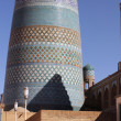 Kalta-Minor minaret in Khiva town in Uzbekistan — Stock Photo