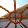 Yurt roof, Mongolia — Stock Photo