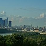 gratte-ciel moderne à la ville de Moscou, Russie — Photo #23077458