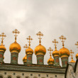 Cathedral of the Assumption in Kremlin  Moscow  Russia — Stock Photo
