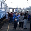 Trans-Siberian Railway - Stock Photo