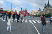 Historical Museum on Red Square. Moscow, Russia — Stock Photo