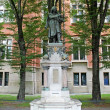 Stock Photo: Nicolaus Copernicus monument, JagielloniUniversity, Poland