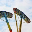 Kamikaze in mid air in a funfair — Stock Photo