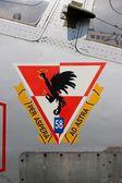 Per aspera ad astra, Polish military force logo — Stock Photo