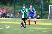 Calcio amatoriale, malopolska, Polonia — Foto Stock