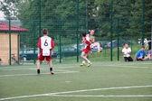 Amateur football, Malopolska, Poland — Stock Photo